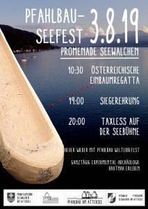 Welterbe Pfahlbau Seefest, Promenade Seewalchen am Attersee